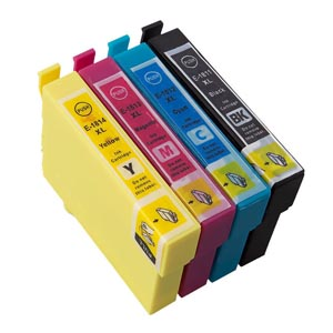 Epson Compatible 18XL Ink Cartridges Set for £9.99