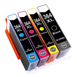 HP Compatible 364XL Ink Cartridges Set for £15.98