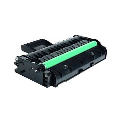 407254 - Ricoh Black  Remanufactured Toner Cartridge