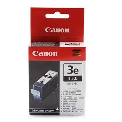 BCI-3eBK - Canon Black  Original Inkjet Cartridge