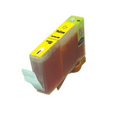 BCI-6Y - Canon Yellow  Compatible Inkjet Cartridge