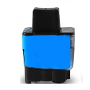 LC900C - Brother Cyan  Compatible Inkjet Cartridge