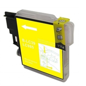 LC985Y - Brother Yellow   Compatible Inkjet Cartridge