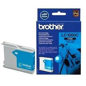 LC1000C - Brother Cyan  Original Inkjet Cartridge