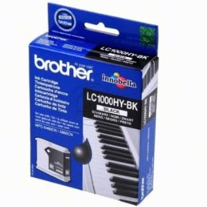 LC1000HYBK - Brother Black High Capacity Original Inkjet Cartridge