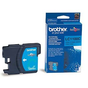 LC1100C - Brother Cyan  Original Inkjet Cartridge