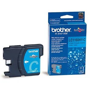 LC1100HYC - Brother Cyan High Capacity Original Inkjet Cartridge