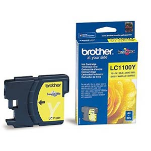 LC1100Y - Brother Yellow  Original Inkjet Cartridge