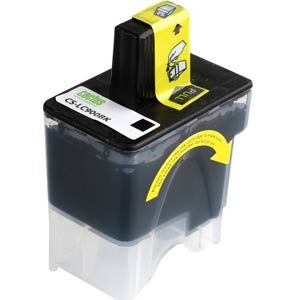 LC900B - Brother Black  Compatible Inkjet Cartridge