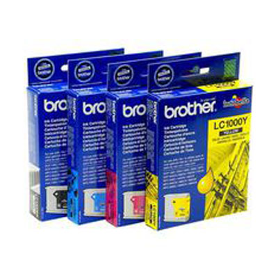 LC1000 Multipack - Set of 4  Brother   Original Inkjet Cartridges