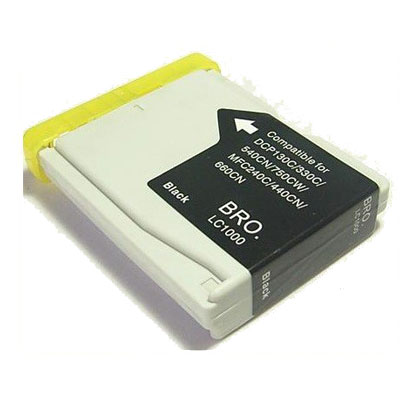 LC1000BK - Brother Black   Compatible Inkjet Cartridge