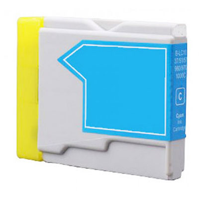LC1000C - Brother Cyan  Compatible Inkjet Cartridge