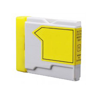 LC1000Y - Brother Yellow  Compatible Inkjet Cartridge