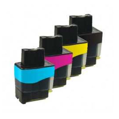 LC900 Multipack - Set of 4  Brother  Compatible Inkjet Cartridges
