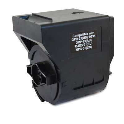 C-EXV21 - Canon Black  Remanufactured Toner Cartridge