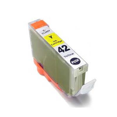 CLI-42Y - Canon Yellow  Compatible Inkjet Cartridge