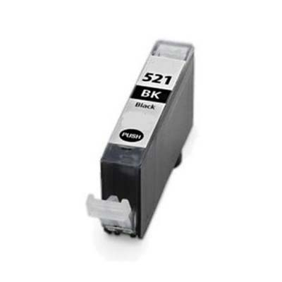 CLI-521BK - Canon Black  Compatible Inkjet Cartridge