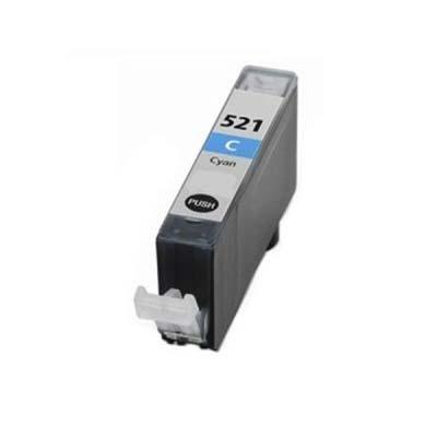 CLI-521C - Canon Cyan  Compatible Inkjet Cartridge