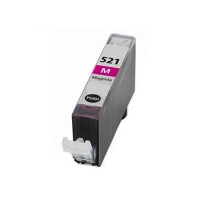 CLI-521M - Canon Magenta  Compatible Inkjet Cartridge