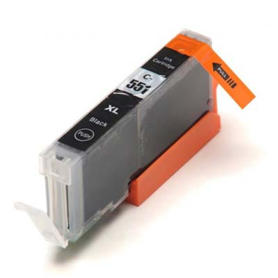 CLI-551BKXL - Canon Black  High Capacity Compatible Inkjet Cartridge
