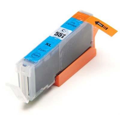 CLI-551CXL - Canon Cyan  High Capacity Compatible Inkjet Cartridge