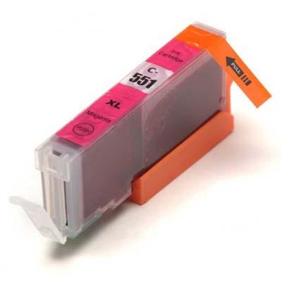 CLI-551MXL - Canon Magenta  High Capacity Compatible Inkjet Cartridge