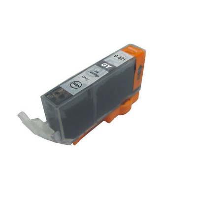 CLI-551XLGY - Canon Grey  High Capacity Compatible Inkjet Cartridge