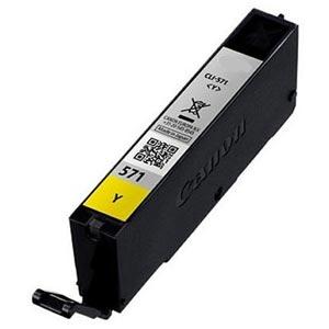 CLI-571YXL - Canon Yellow  High Capacity Compatible Inkjet Cartridge