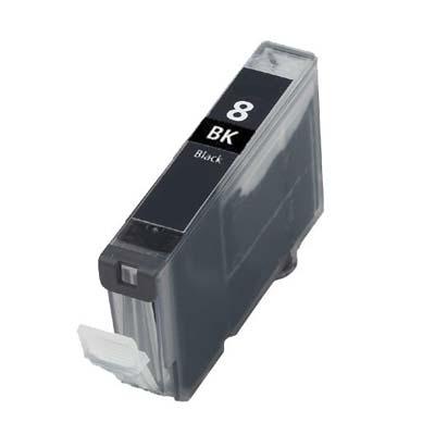 CLI-8BK - Canon Black   Compatible Inkjet Cartridge