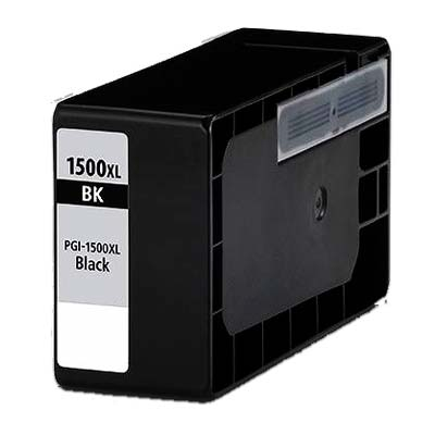 PGI-1500XLBK - Canon Black High Capacity Compatible Inkjet Cartridge