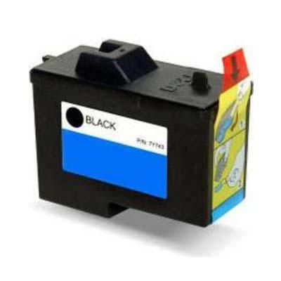 7Y743 - Dell Black  Remanufactured Inkjet Cartridge