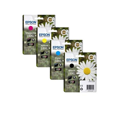 18XL T1816 Multipack - Set of 4  Epson  High Capacity Original Inkjet Cartridges