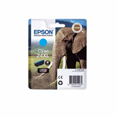 24XL (T2432) - Epson Cyan  High Capacity Original Inkjet Cartridge