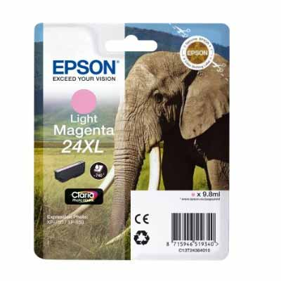 24XL (T2436) - Epson Light Magenta  High Capacity Original Inkjet Cartridge