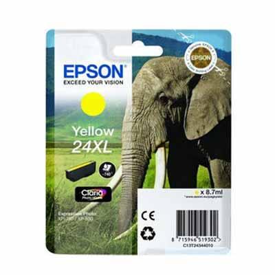 24XL (T2434) - Epson Yellow  High Capacity Original Inkjet Cartridge