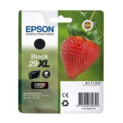 29XL T2991 - Epson Black  High Capacity Original Inkjet Cartridge