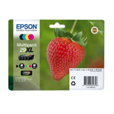 29XL T2996 Multipack - Set of 4  Epson  High Capacity Original Inkjet Cartridges