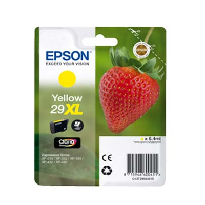 29XL T2994 - Epson Yellow  High Capacity Original Inkjet Cartridge