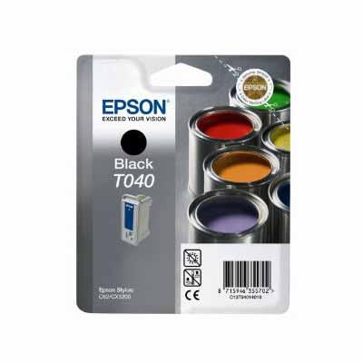 T040 - Epson Black  Original Inkjet Cartridge