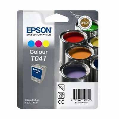 T041 - Epson Colour  Original Inkjet Cartridge