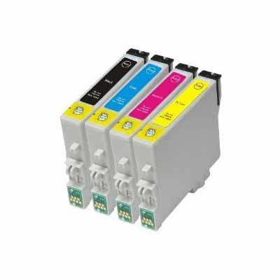 T0445 - Set of 4  Epson   Compatible Inkjet Cartridges