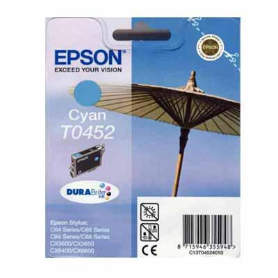 T0452 - Epson Cyan  Original Inkjet Cartridge