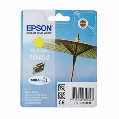 T0454 - Epson Yellow  Original Inkjet Cartridge
