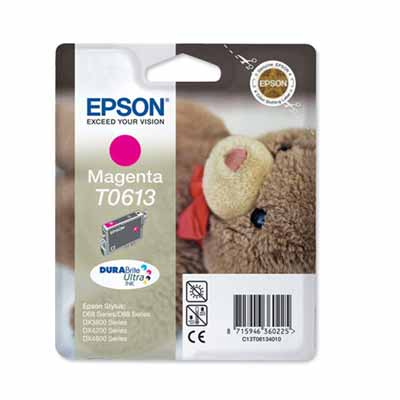 T0613 - Epson Magenta   Original Inkjet Cartridge