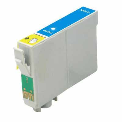T0712 - Epson Cyan   Compatible Inkjet Cartridge