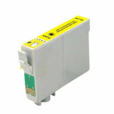 T0714 - Epson Yellow   Compatible Inkjet Cartridge