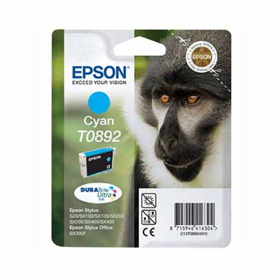 T0892 - Epson Cyan  Original Inkjet Cartridge