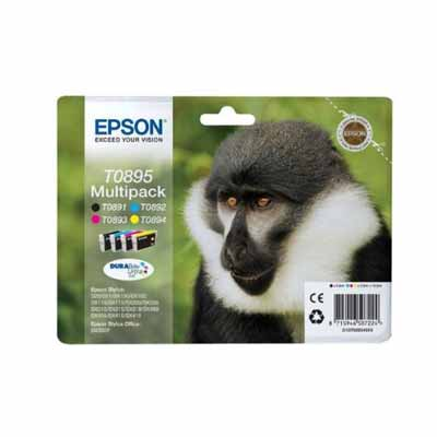 T0895 Multipack - Set of 4  Epson   Original Inkjet Cartridges