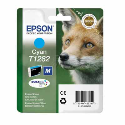 T1282 - Epson Cyan   Original Inkjet Cartridge