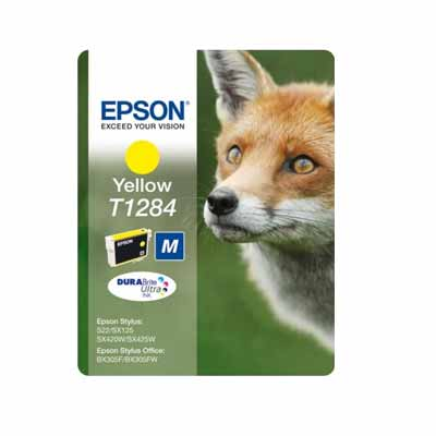 T1284 - Epson Yellow   Original Inkjet Cartridge